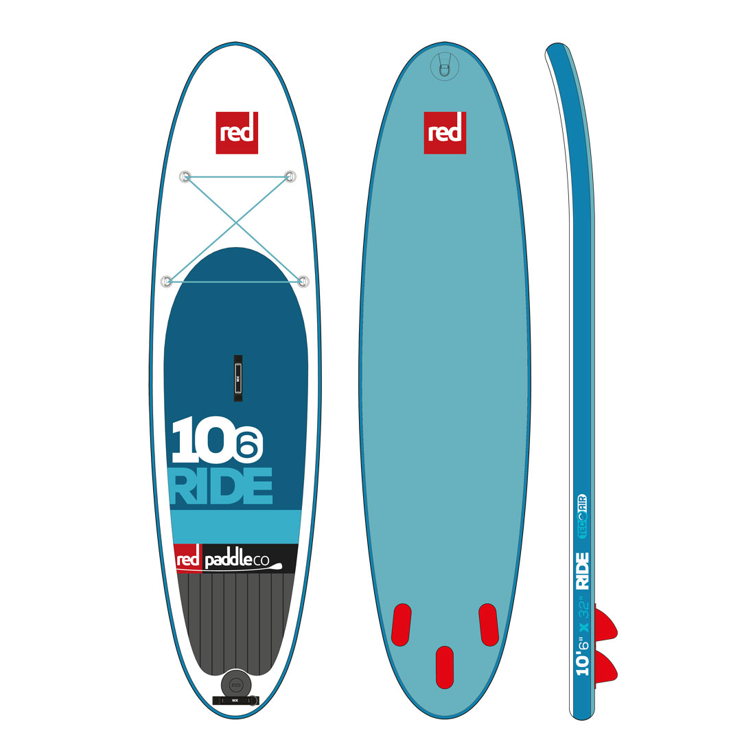 "RED 10'6"" RIDE model 2016"
