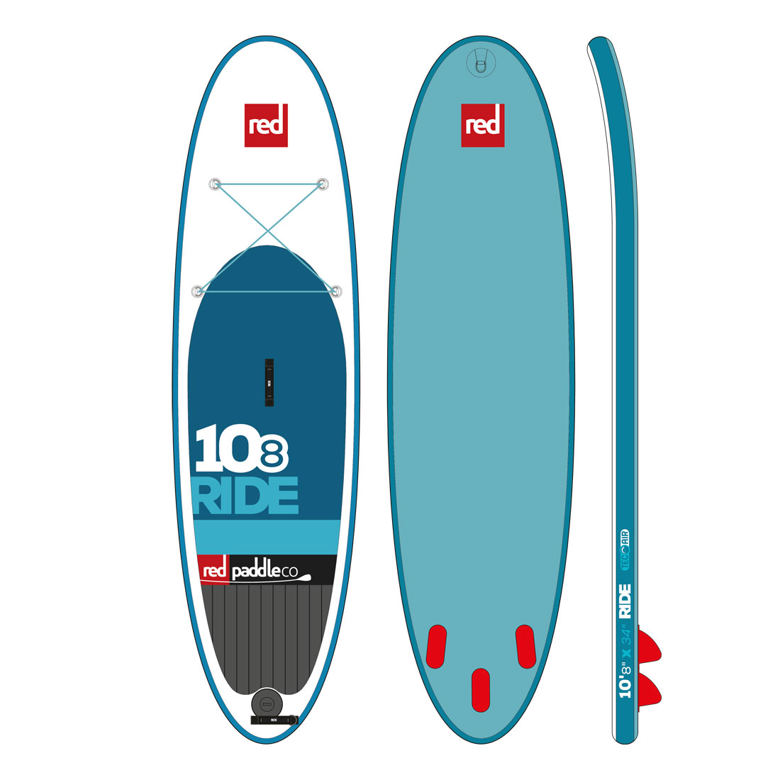 "RED 10'8"" RIDE model 2016"
